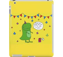 Dinosaur Dave's Birthday iPad Case/Skin