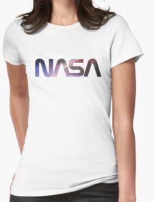 Galaxy NGC 4258 / M106 NASA Womens Fitted T-Shirt