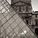 Louvre Lovers by Graham Jones