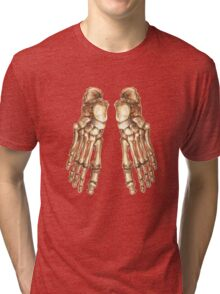foot massage Tri-blend T-Shirt