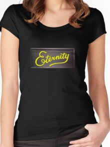 eternity tee Women's Fitted Scoop T-Shirt