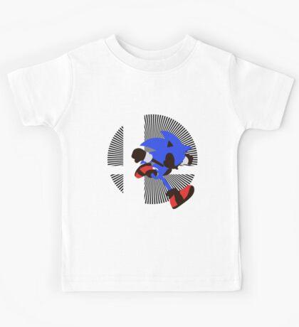 Sonic - Sunset Shores Kids Tee