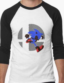Sonic - Sunset Shores Men's Baseball ¾ T-Shirt