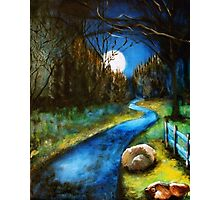Silent Night Photographic Print