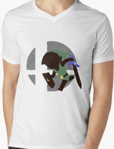 Toon Link - Sunset Shores Mens V-Neck T-Shirt