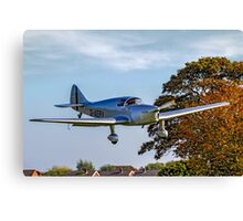 Miles M.11A Whitney Straight G-AERV Canvas Print