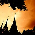 THAILAND TEMPLES.... by JAZ art