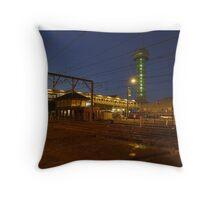 Queens Wharf Tower (Newcastle) Throw Pillow