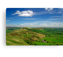 The Great Ridge and the Hope Valley Canvas Print