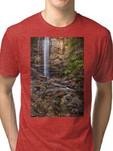 Toccoa Falls in north Georgia Tri-blend T-Shirt