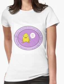 Ducky Momo Womens Fitted T-Shirt