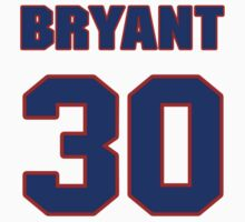 National football player Bryant Westbrook jersey 30 by imsport