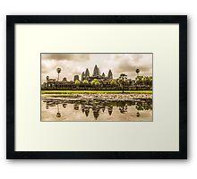 Angkor Wat Framed Print