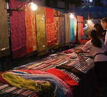 Night Market - Pashmina by Dave Lloyd