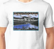 Mt Lafayette and Franconia Notch from Concord, Vermont Unisex T-Shirt