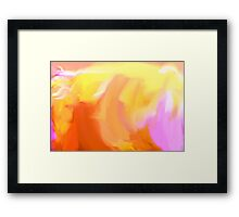 Yello Tulip Framed Print