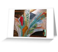 Glass Assemblage No.17 Greeting Card