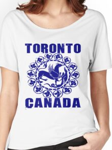 TORONTO, CANADA Women's Relaxed Fit T-Shirt
