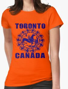 TORONTO, CANADA Womens Fitted T-Shirt