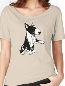 Coloured English Bull Terrier  Women's Relaxed Fit T-Shirt