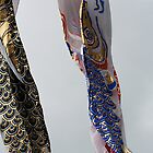 koinobori on a cloudy day by mjds