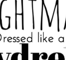 Nightmare Dressed Like A Daydream Sticker