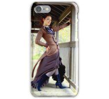 Dame Fidelia in Red River 1 iPhone Case/Skin