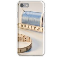 Close-up of Sewing Notions iPhone Case/Skin