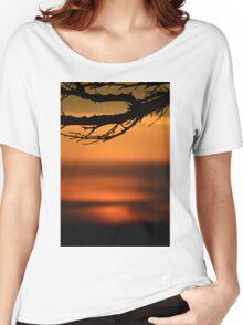 Ocean Sunset Women's Relaxed Fit T-Shirt