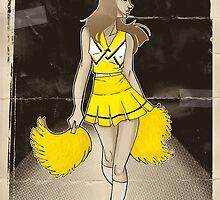 Cheerleader  by mingmonger
