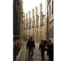 Cambridge Roof tops Photographic Print