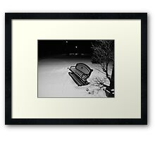 shadow's of the past  Framed Print