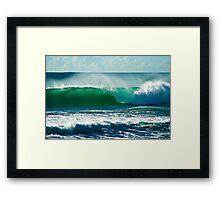 Beach Break Framed Print