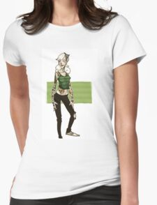 Tattooed beauty  Womens Fitted T-Shirt