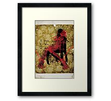 MACHINERY OF MEAT Part.2 Framed Print