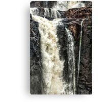 Iguazu Falls - in close Canvas Print