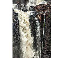 Iguazu Falls - in close Photographic Print