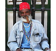 Old Timer (Cuba) Photographic Print