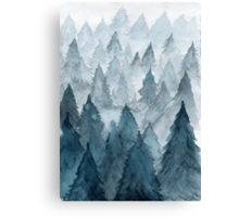 Clear Winter Canvas Print