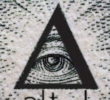 Alt-J triangle illuminati by itmightbeanna