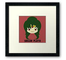 Sailor Pluto Framed Print