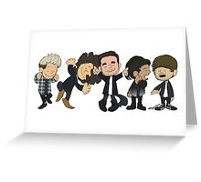 Schulz 1D Dancing Greeting Card