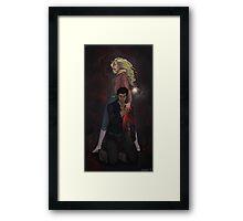 Emma Swan & Her Heartless Pirate Framed Print