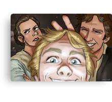 Star Wars selfie series: #1 Canvas Print