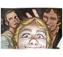 Star Wars selfie series: #1 Poster