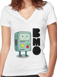 BMO Women's Fitted V-Neck T-Shirt