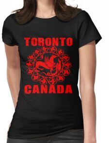 TORONTO, CANADA-3 Womens Fitted T-Shirt