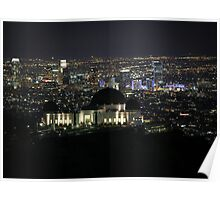 City of Angels - Los Angeles Nighttime Skyline Poster
