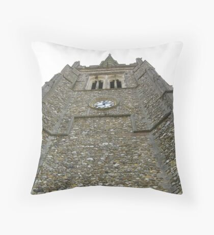 Thaxted Church Tower Throw Pillow