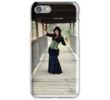 Mistress Fogg in Red River iPhone Case/Skin
